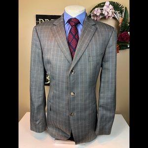 Hugo Boss Suit Jacket Silk-Wool Size 48R